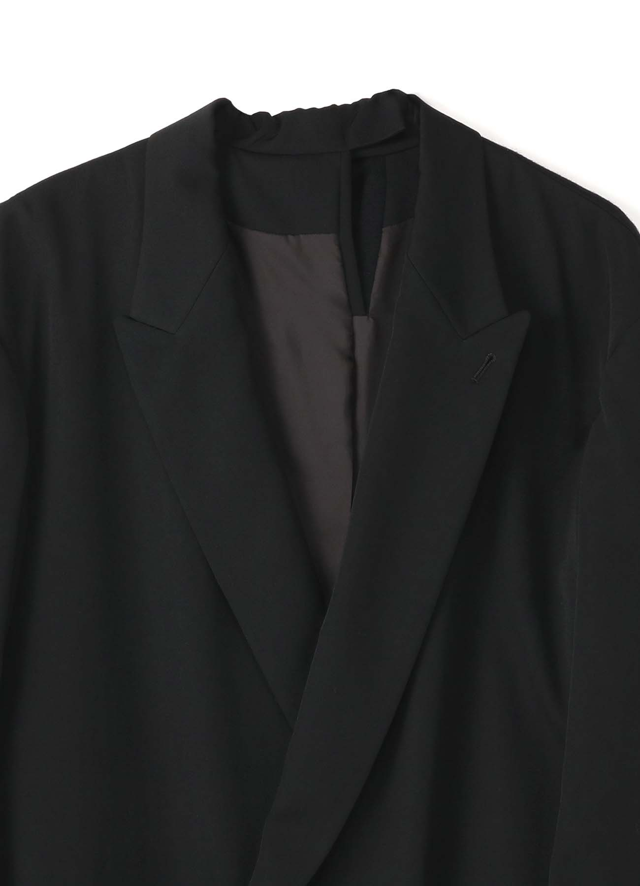 GABARDINE BACK COMBI TAILORED JACKET