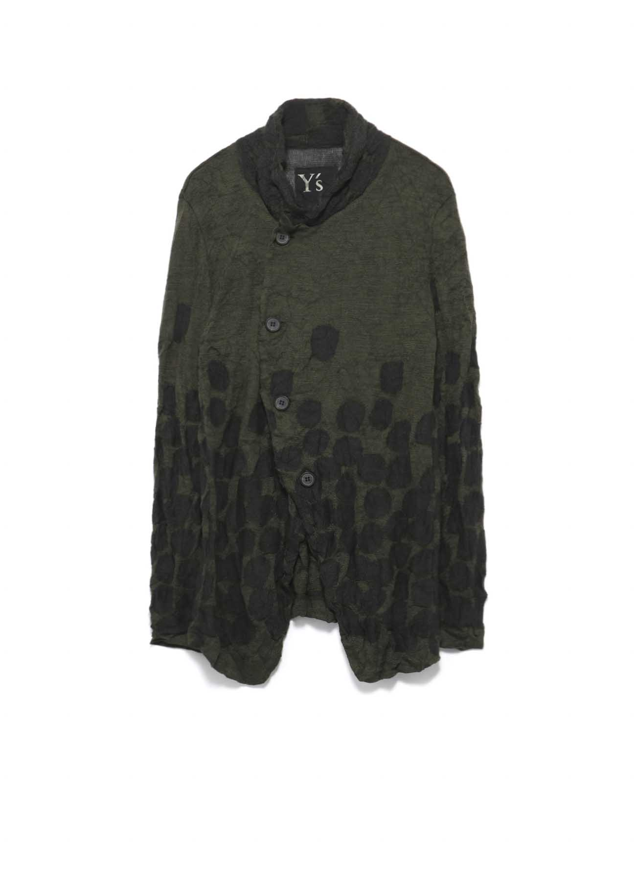 LINKS DOT WRINKLE 4 BOTANN KNIT JACKET