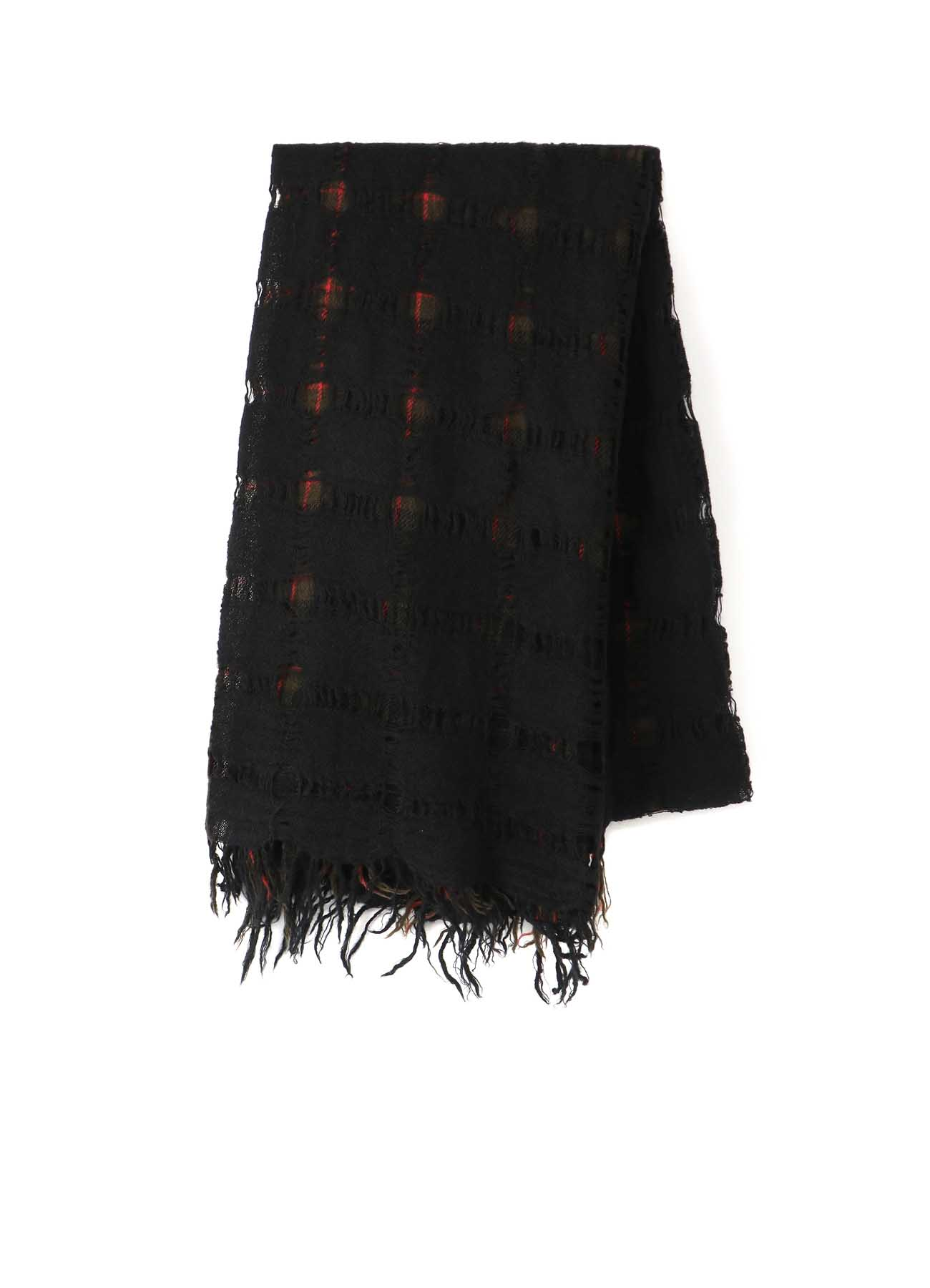 MILLING WOOL PLAID x HOLE STOLE