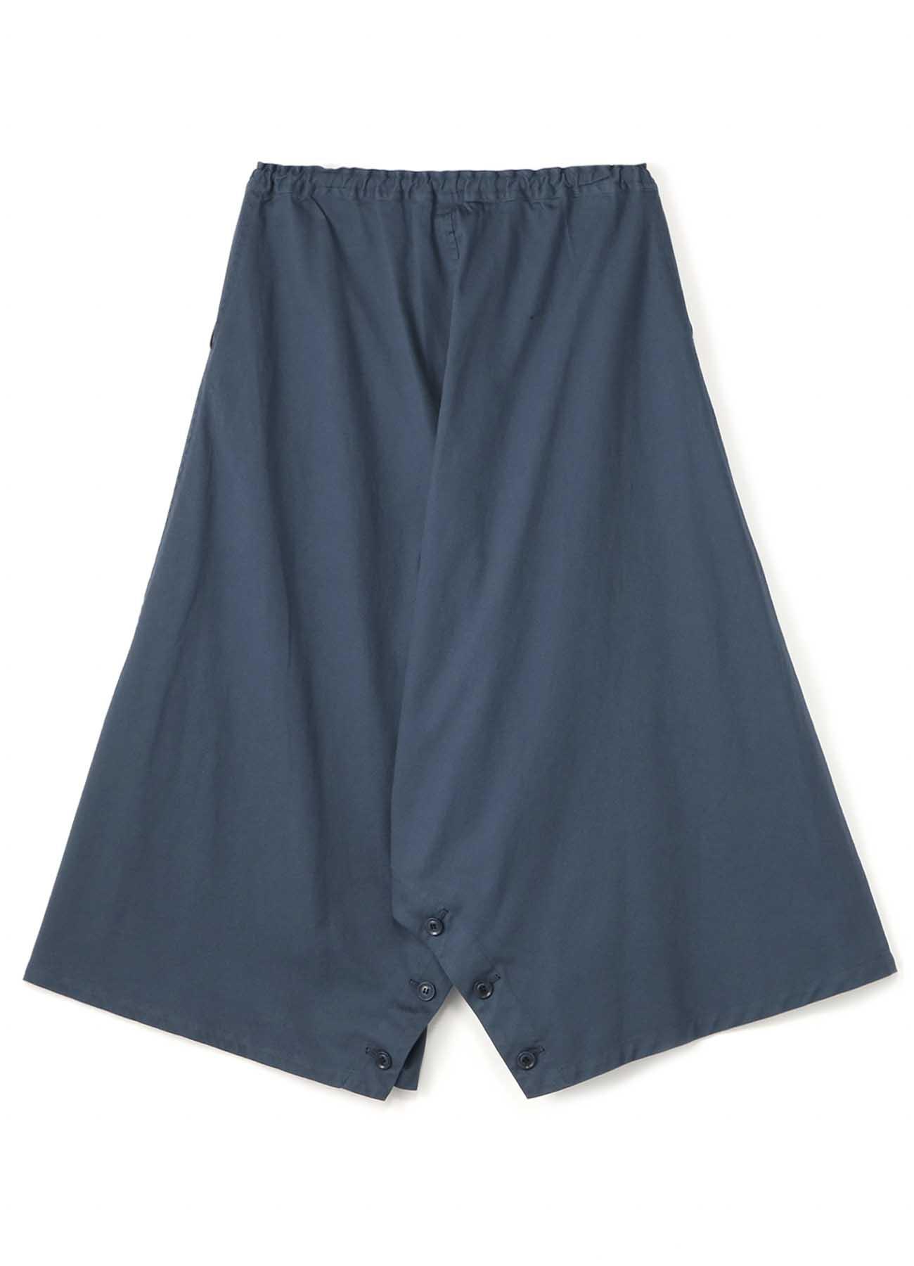 Y's-BORN PRODUCT INSEAM BOTANN OPEN PANTS