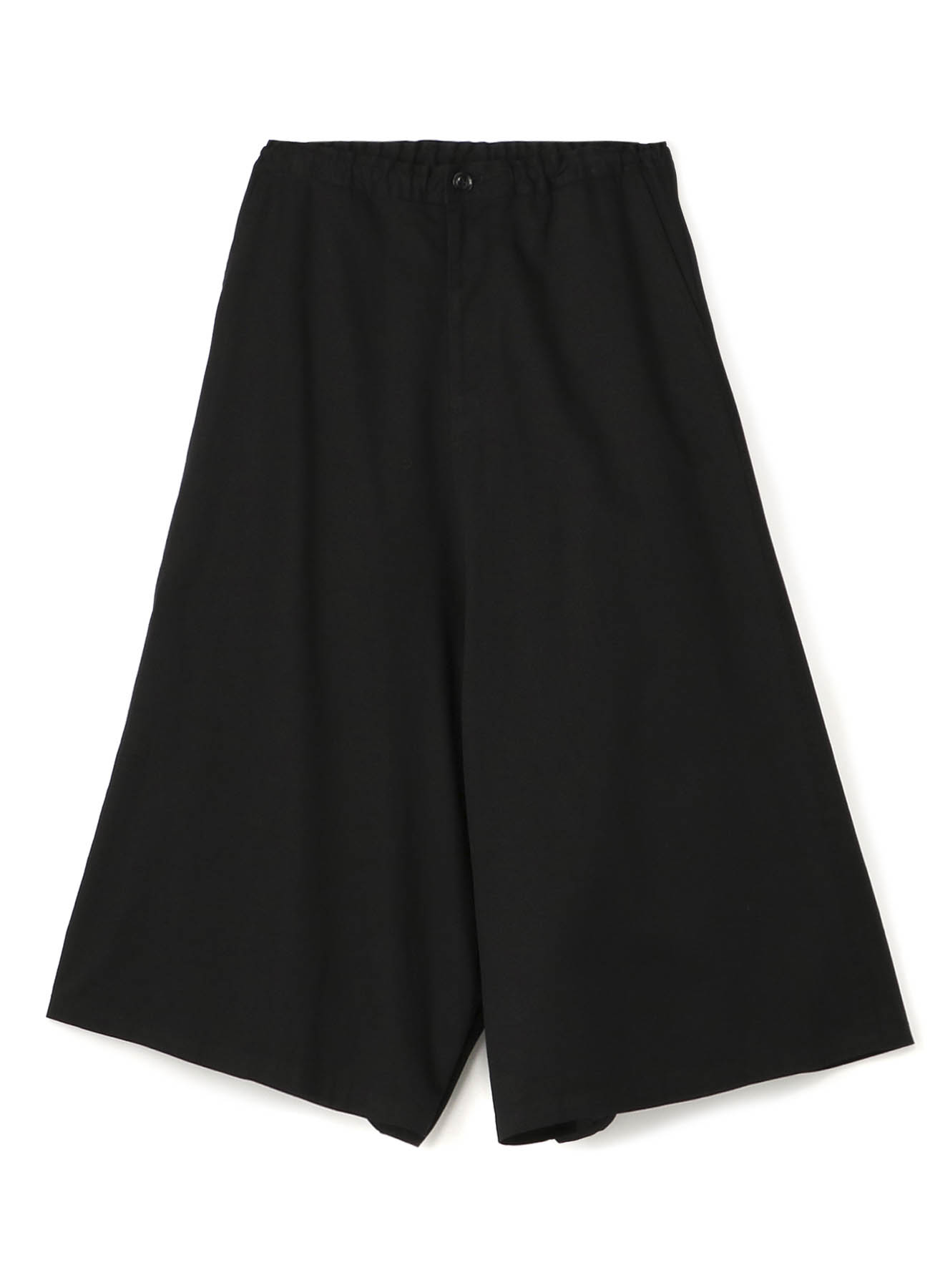Y's-BORN PRODUCT INSEAM BOTANN OPEN PANTS