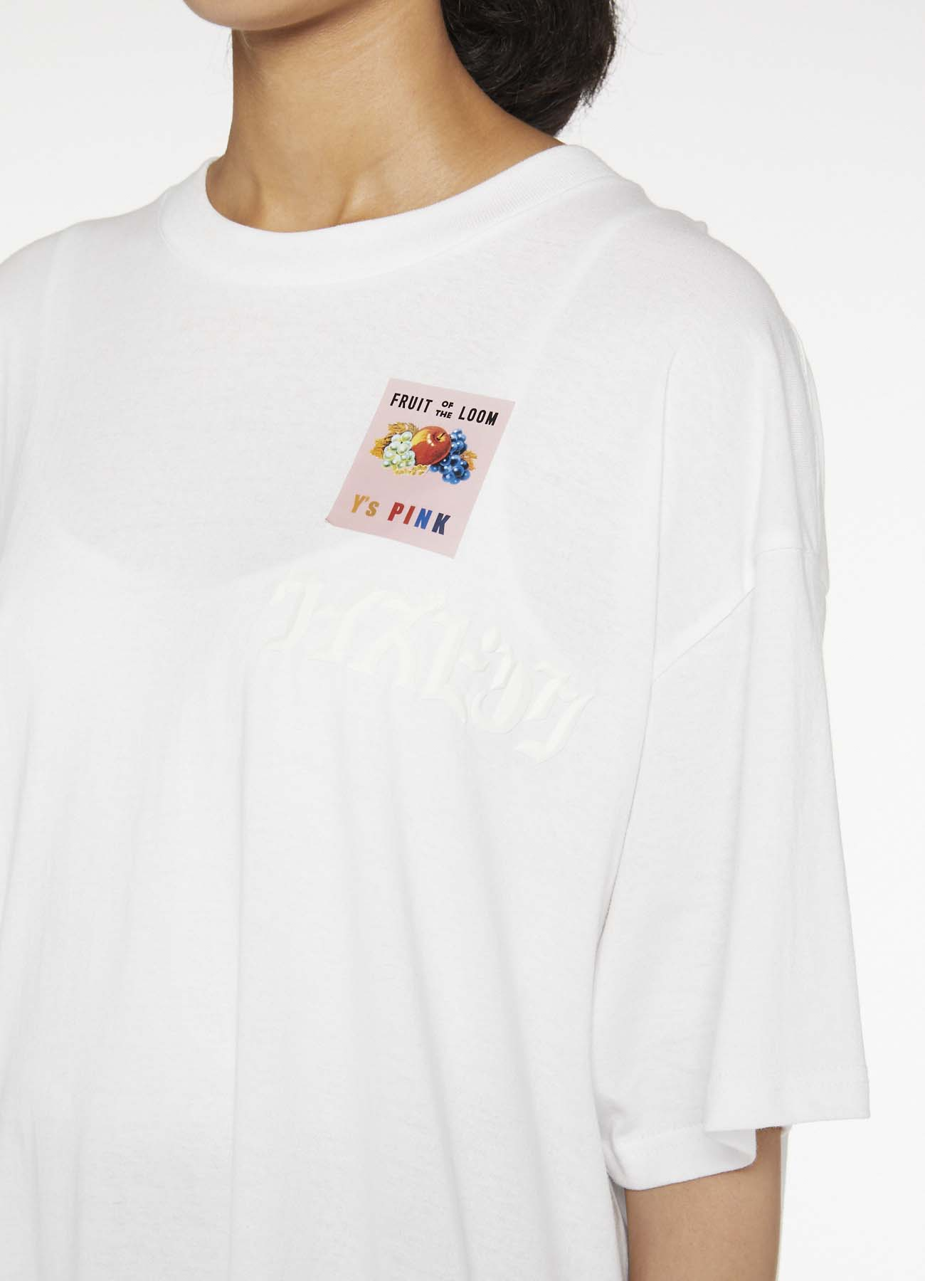Y'sPINK x FRUIT OF THE LOOM COLLABORATION T-SHIRT