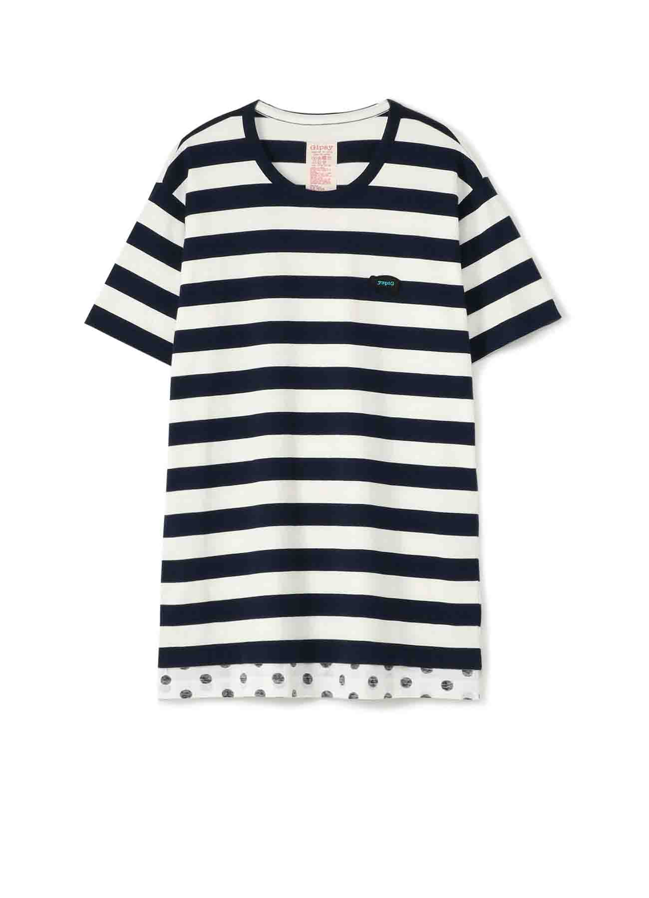 Gipsy THICK STRIPE SHORT SLEEVE T-SHIRT