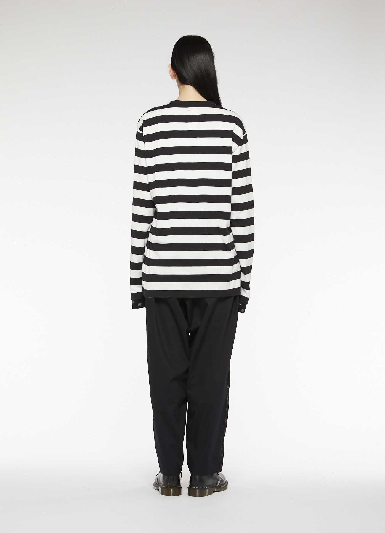 Gipsy THICK STRIPE LONG SLEEVE T-SHIRT