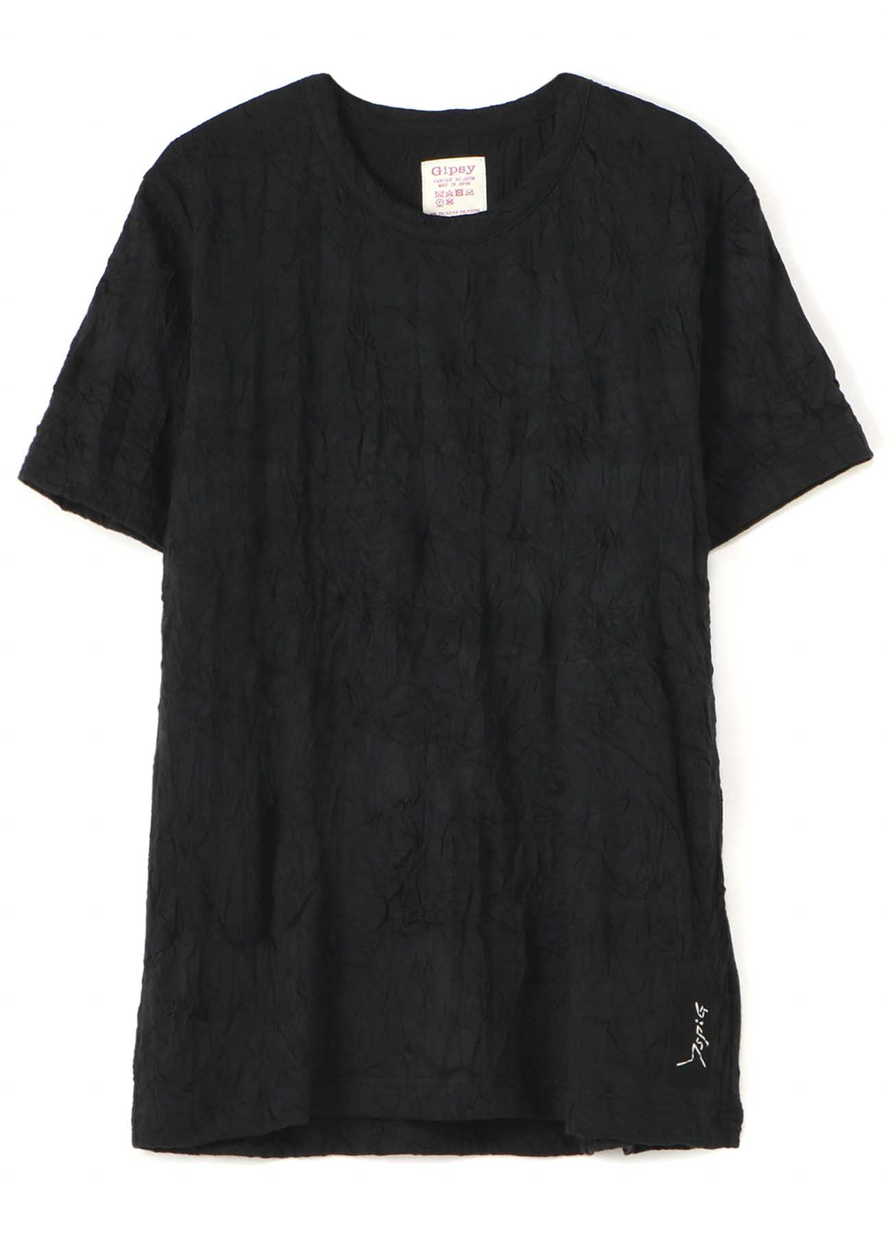 Gipsy COTTON POLYESTER WRINKLE SHORT SLEEVE T-SHIRT