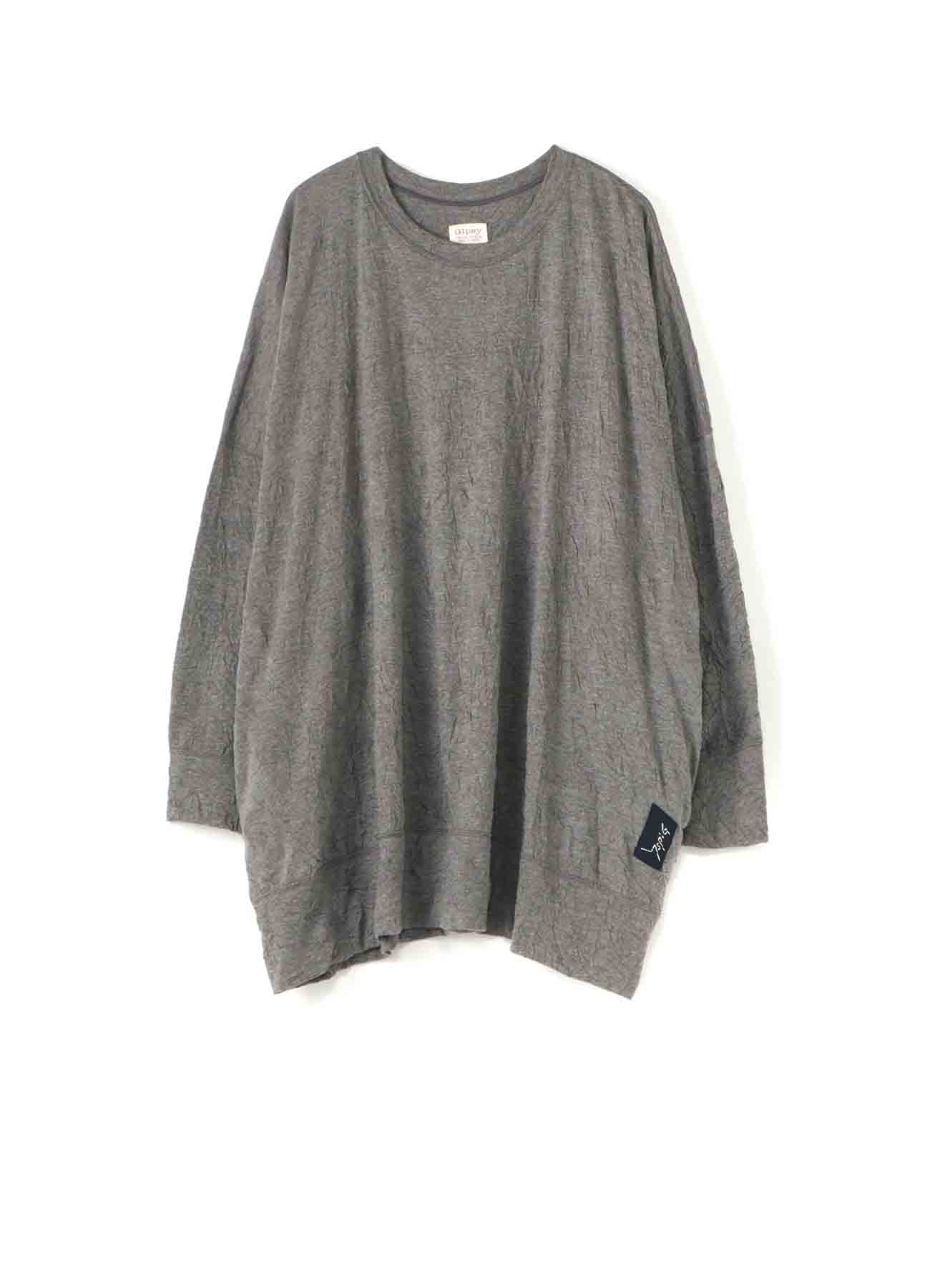 Gipsy COTTON POLYESTER WRINKLE BIG T-SHIRT