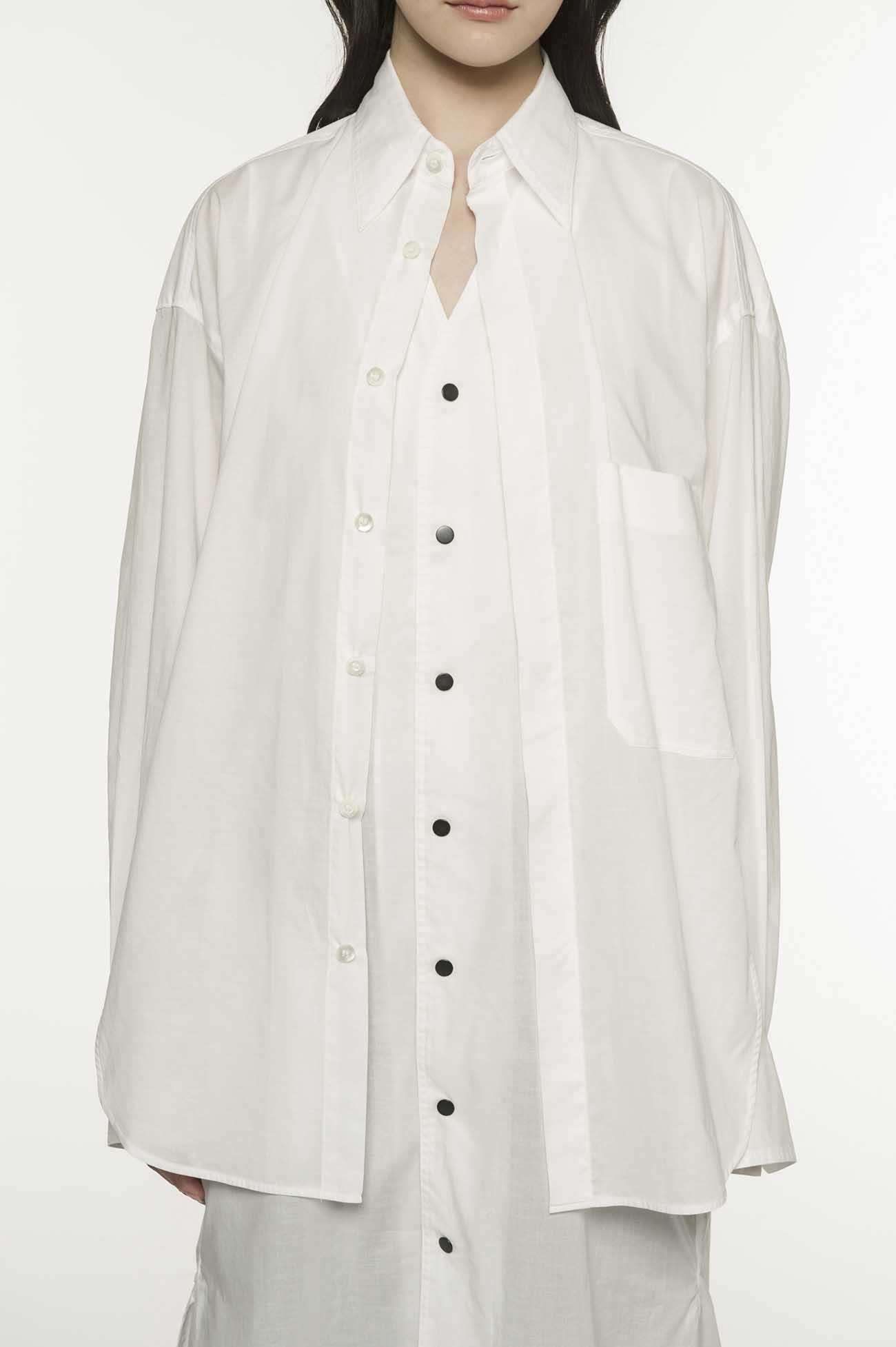 Y'sPINK 60ローン レイヤードシャツ