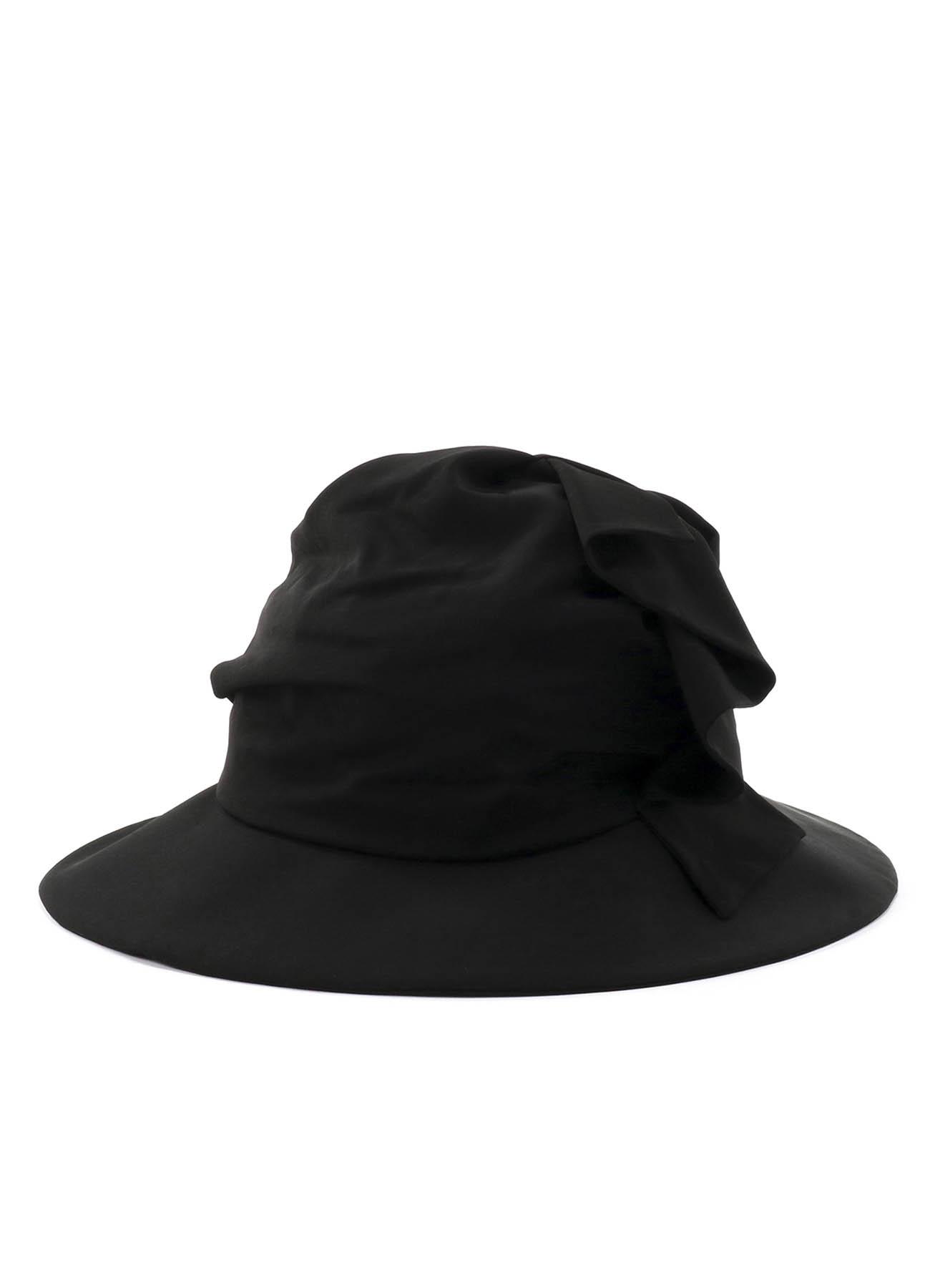褶皱宽檐遮阳帽