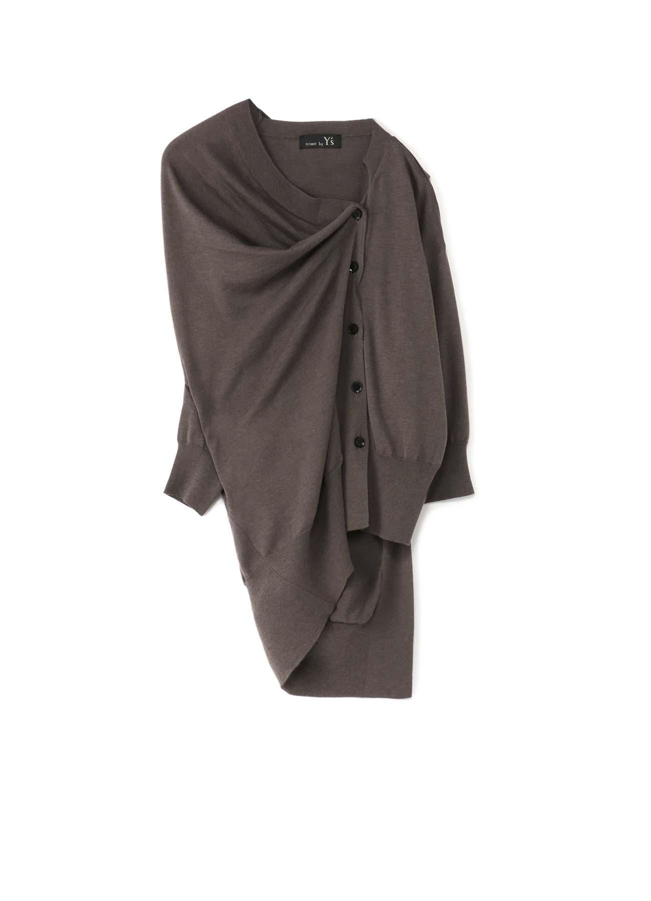 RISMATbyY的棉质天丝丝表披风变形短开衫