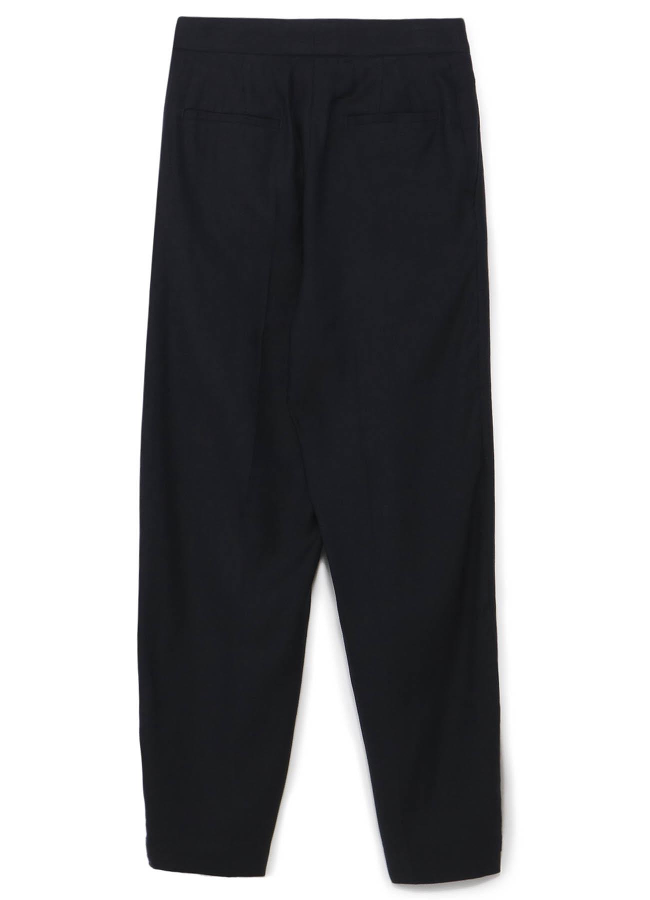 リネンキュプラツイル 裾細パンツ