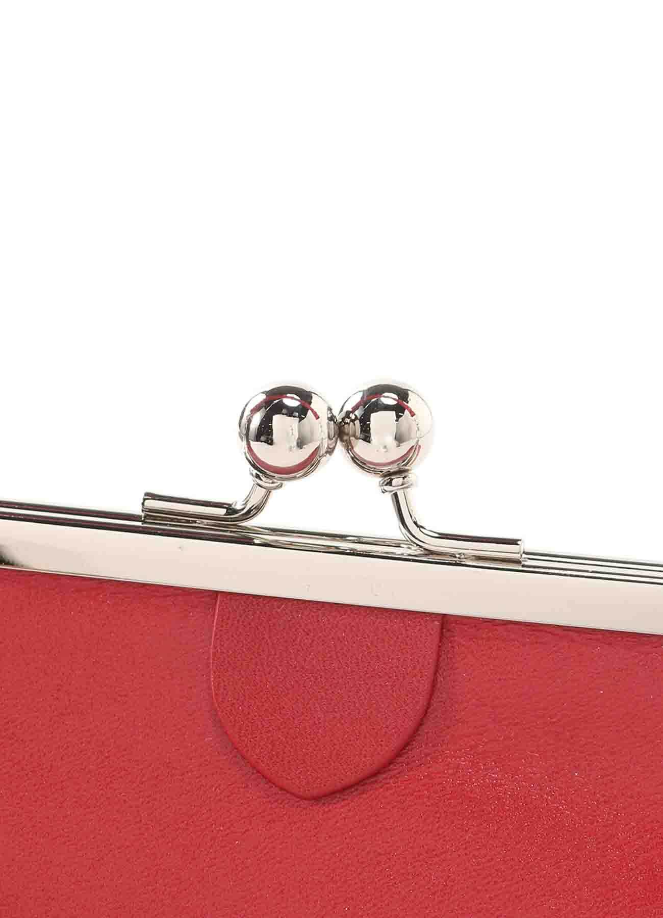 SOFT LEATHER CLASP POUCH