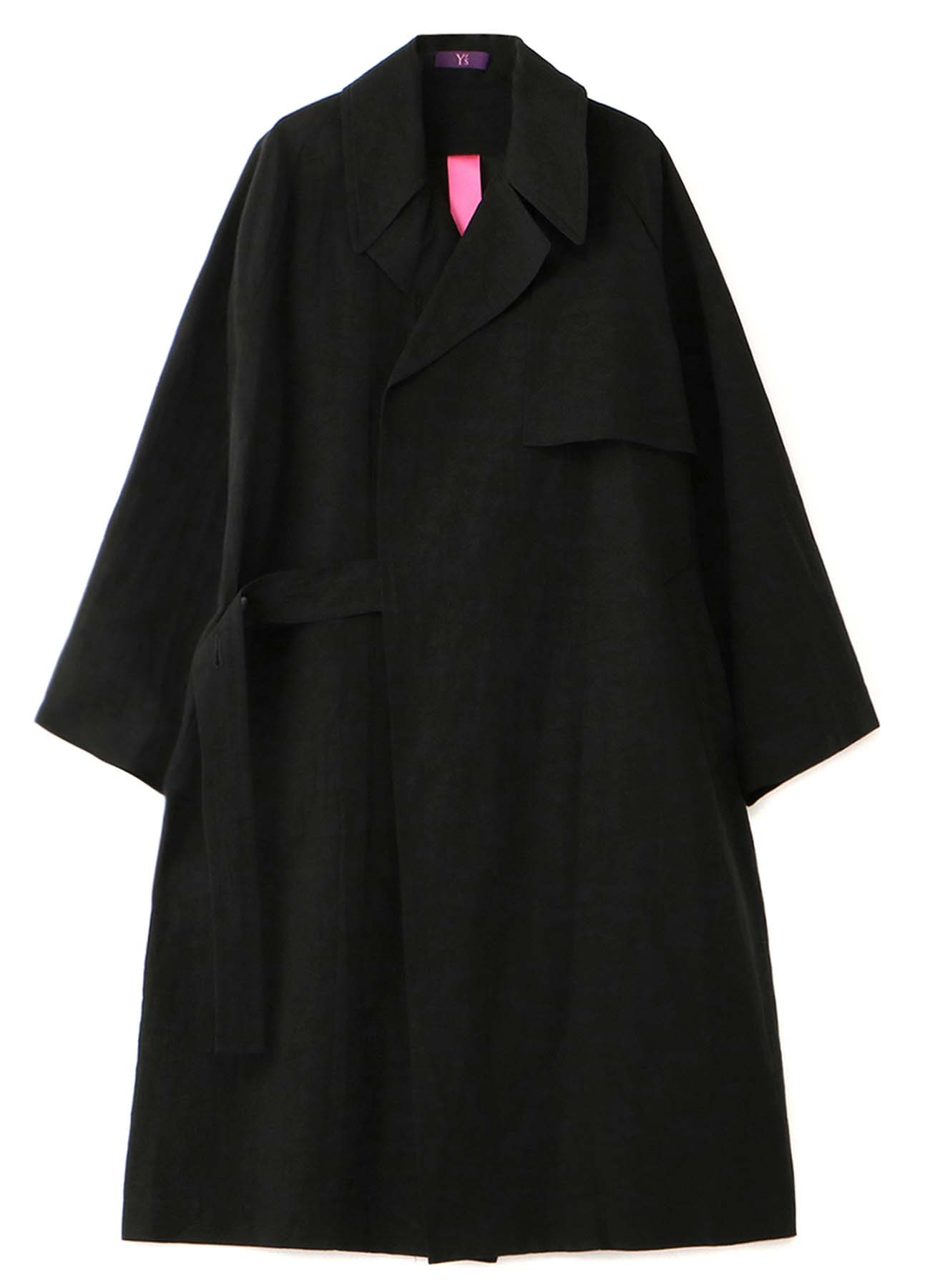 C/L HIGH COUNT TYPEWRITER TRENCH COAT