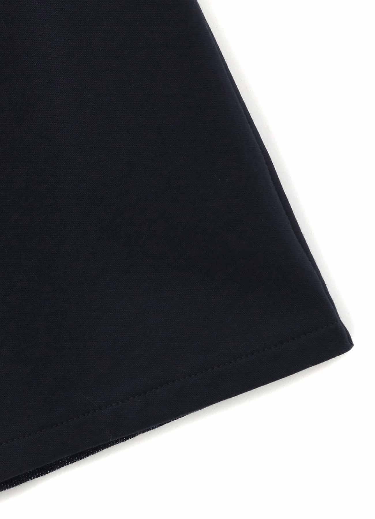 10ozDENIM + COTTON FLEECE SHOULDER LACE DRESS