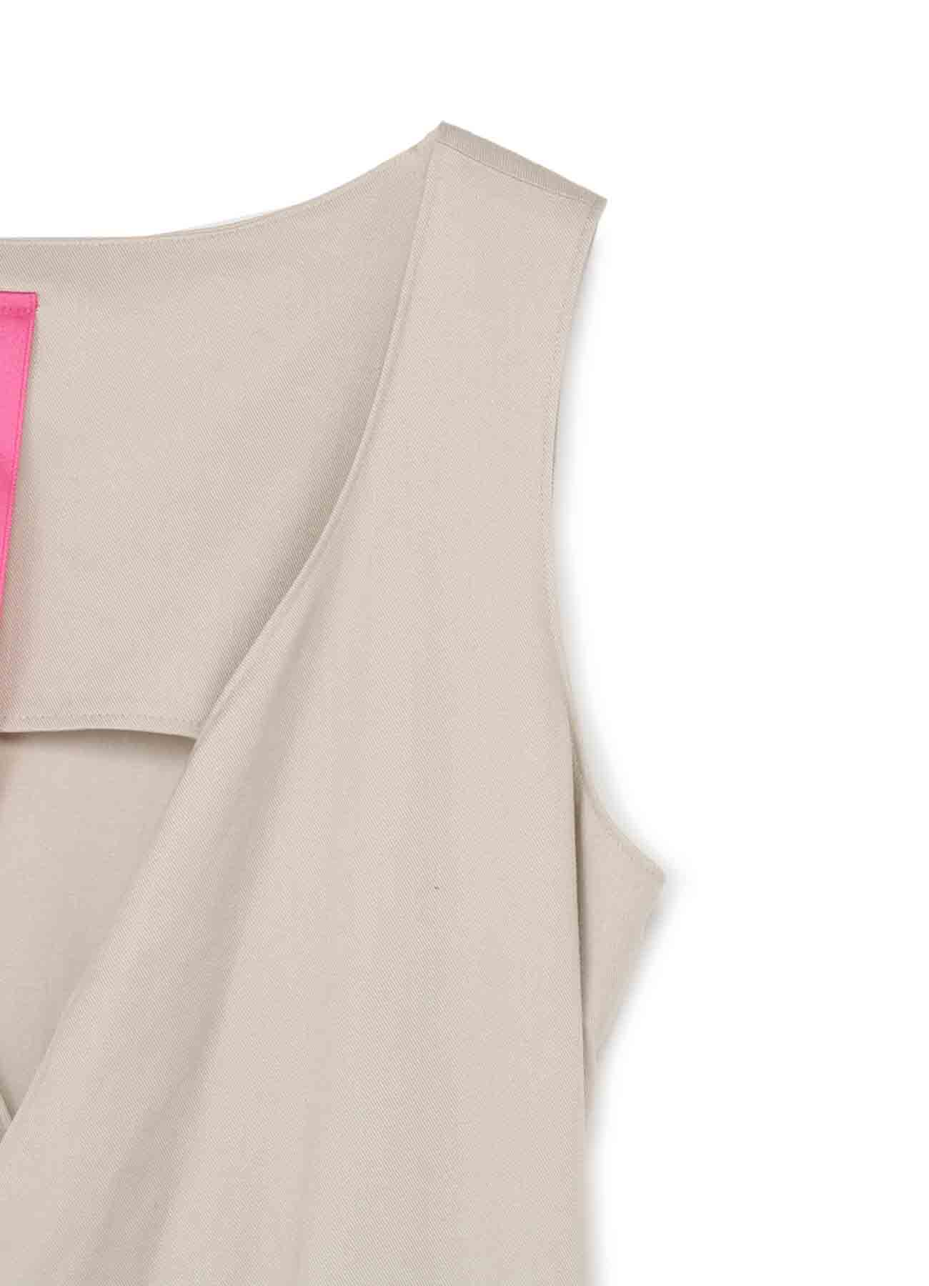 Ry LINE TWILL SOFT TUMBLER CACHE COEUR DRESS