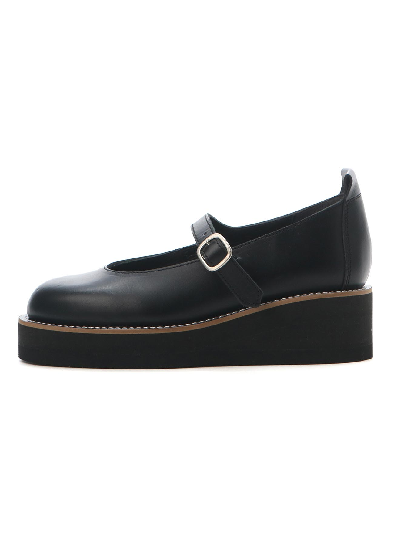 1,6mmTHICK HARD LEATHER WEDGE ONE STRAP
