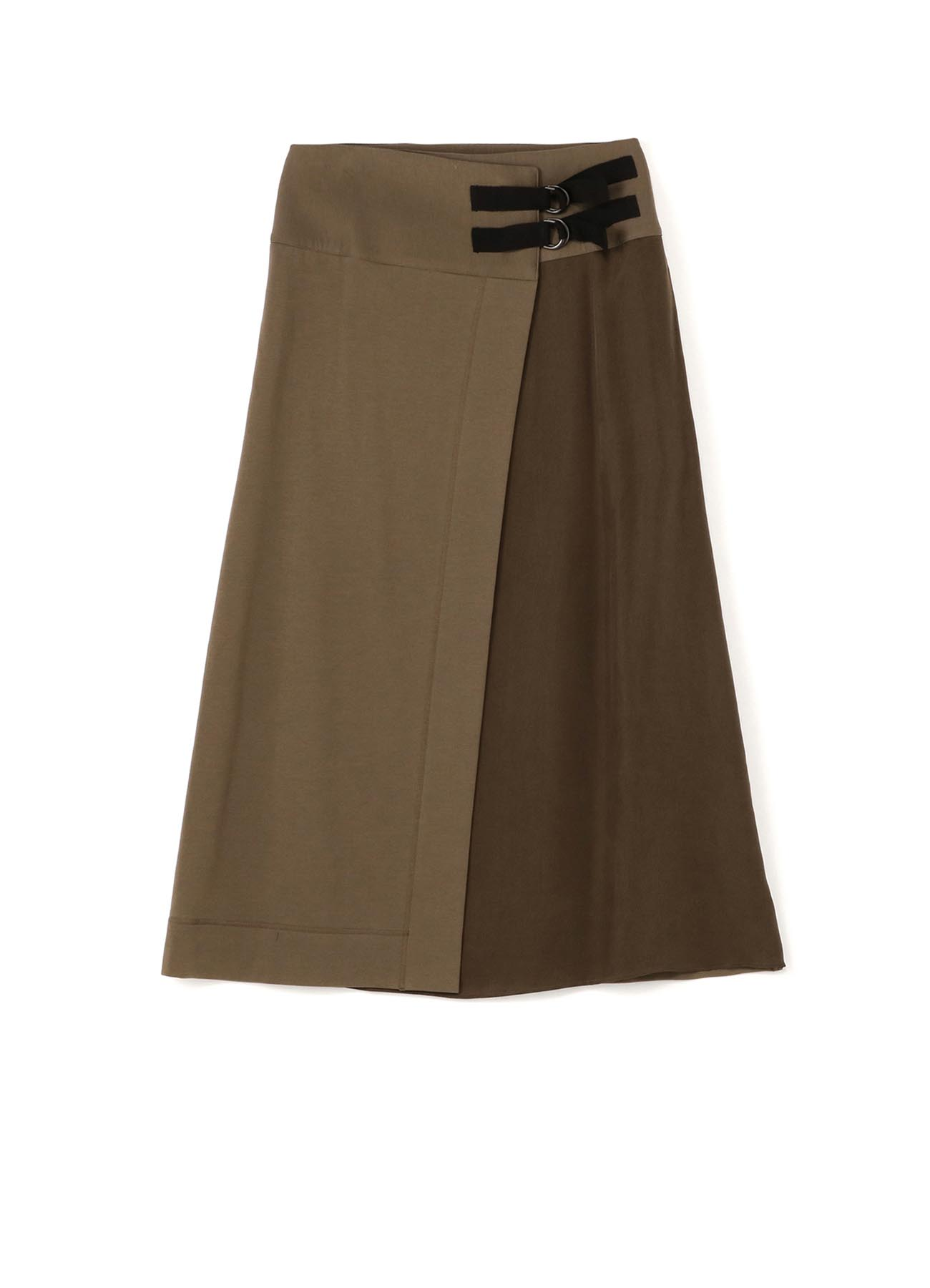 RISMATbyY's COTTON SUVIN GIZA FLEECE W BELT WRAP SKIRT