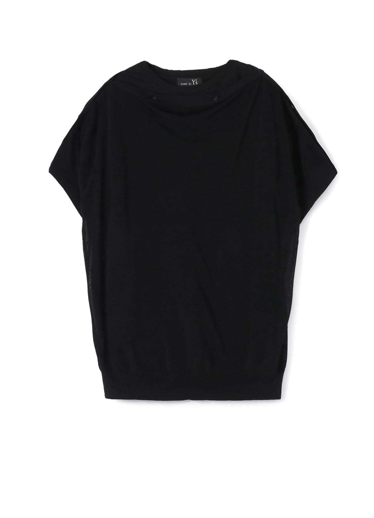 1/52Ry/Ny14G2P PLAIN STITCH BUTTON OPEN SHORT SLEEVE T