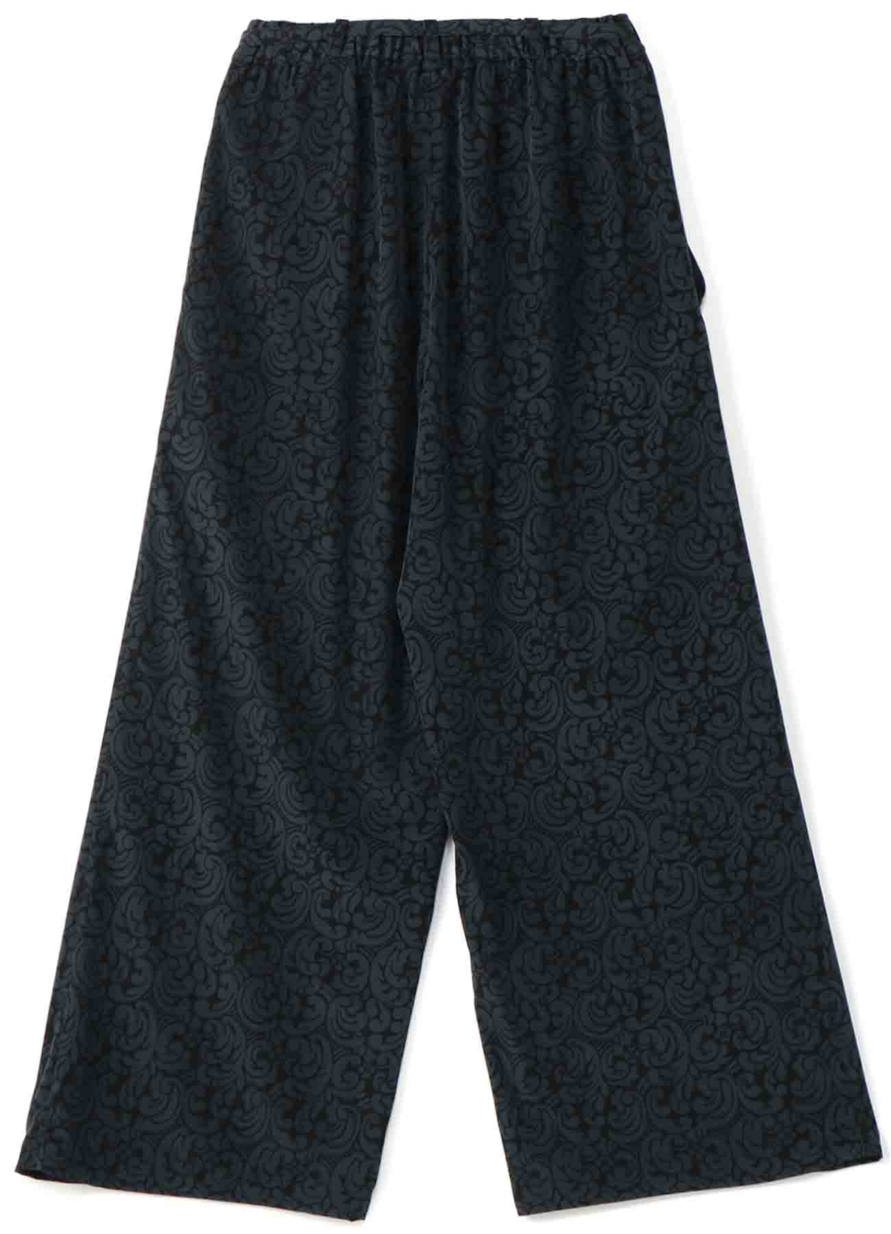 DECYNE SCROLL PRINT EASY PANTS