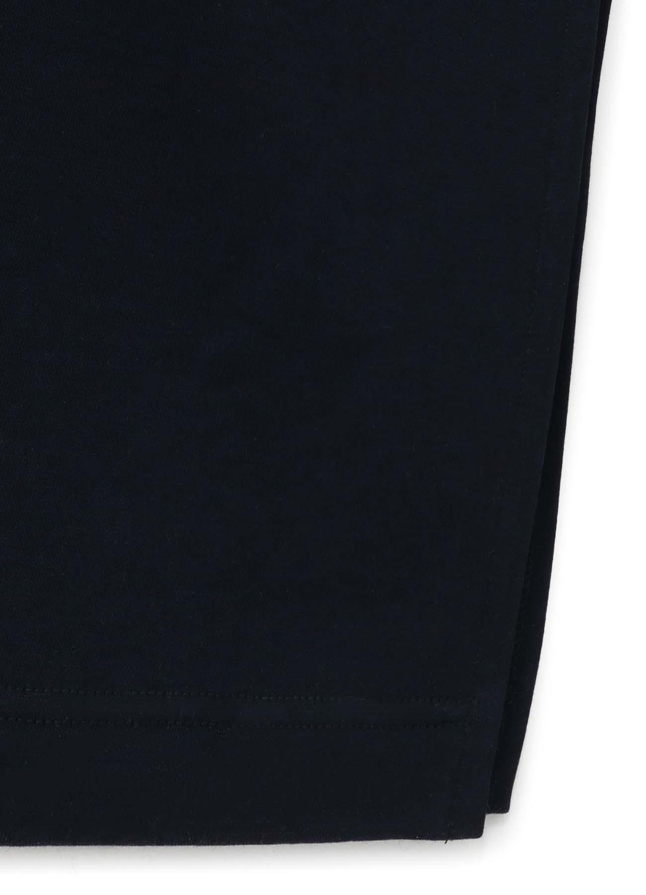 COTTON FLEECE VERITCAL PATCH DRESS