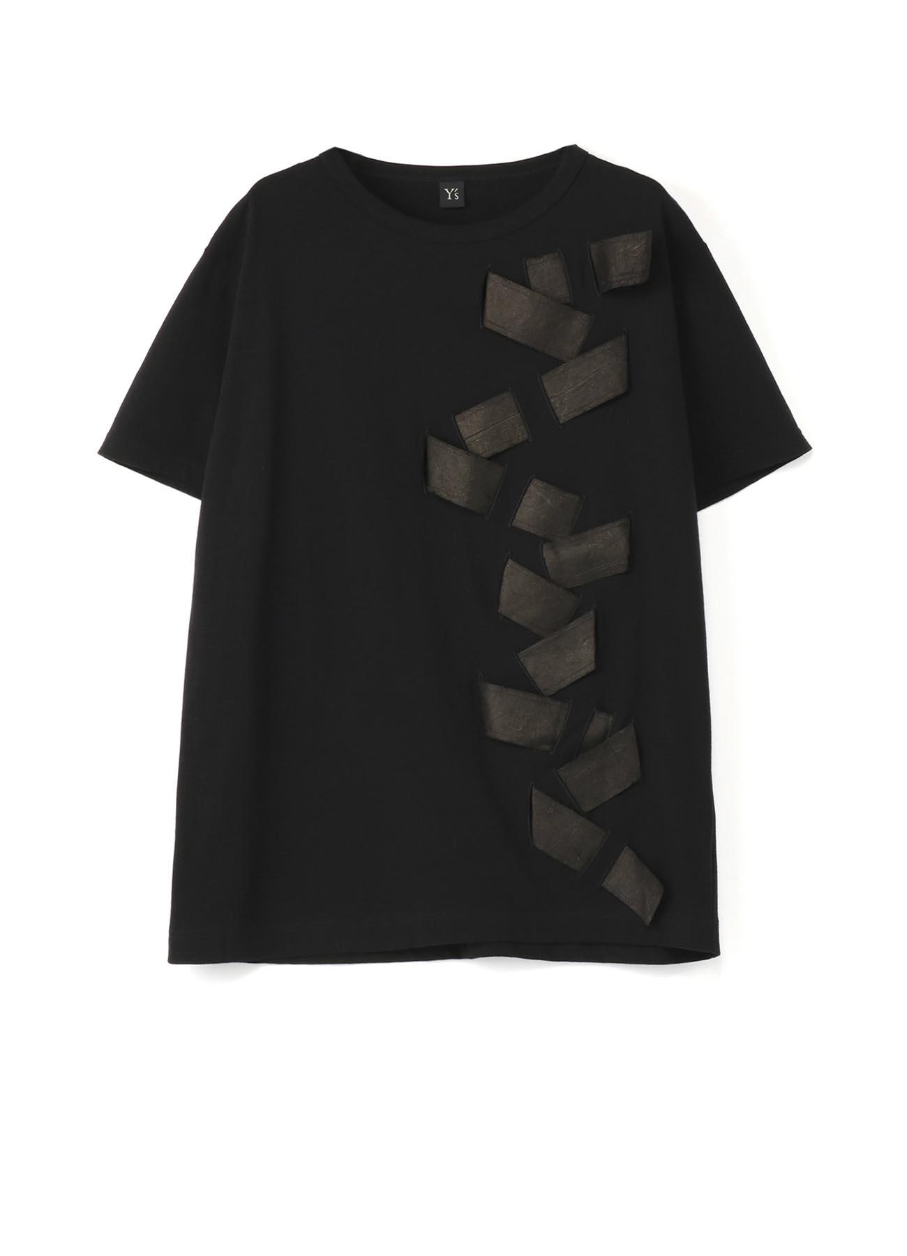 和紙ベルト 半袖Tシャツ