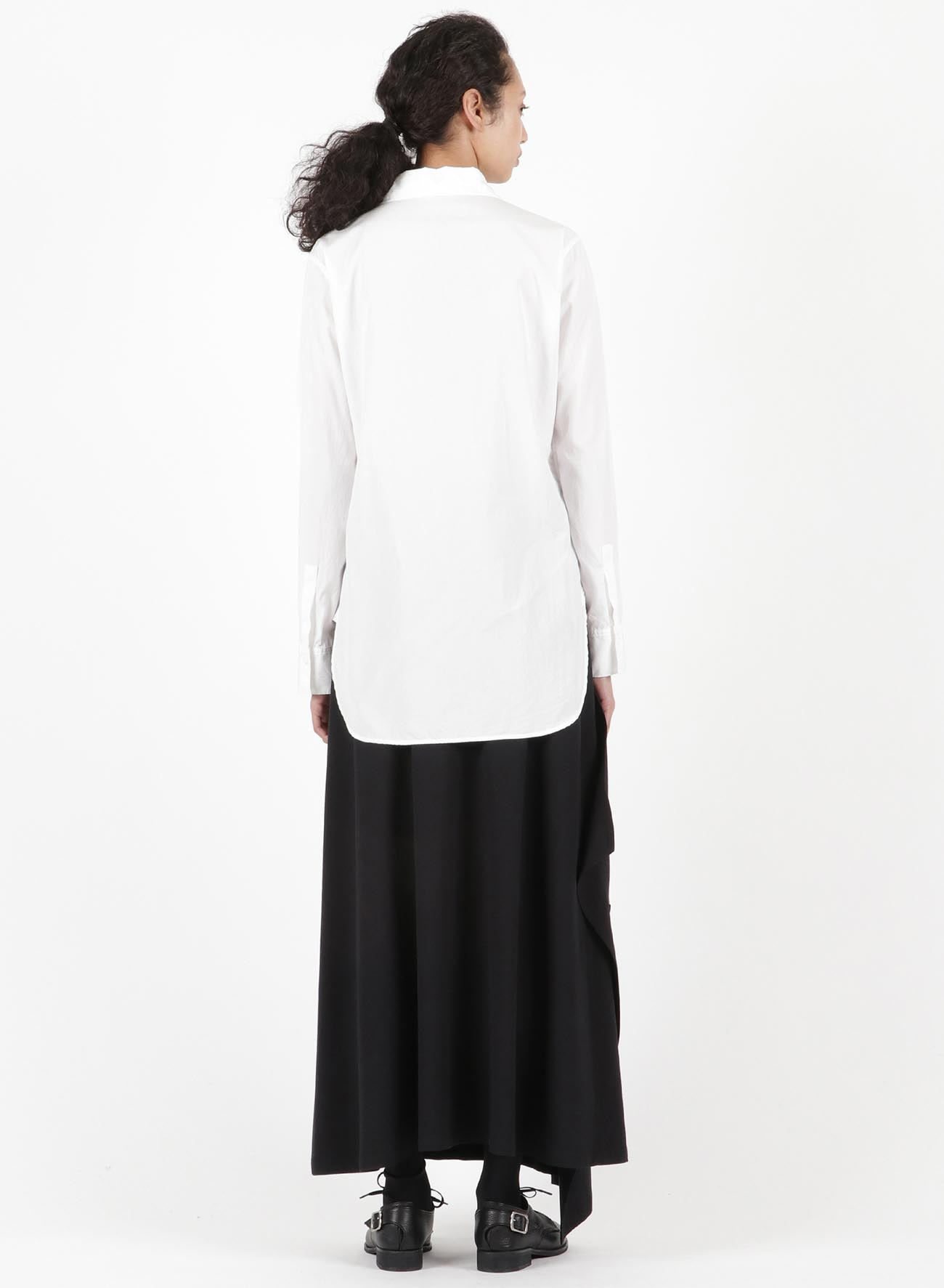 BROAD FRONT RIBOON BLOUSE