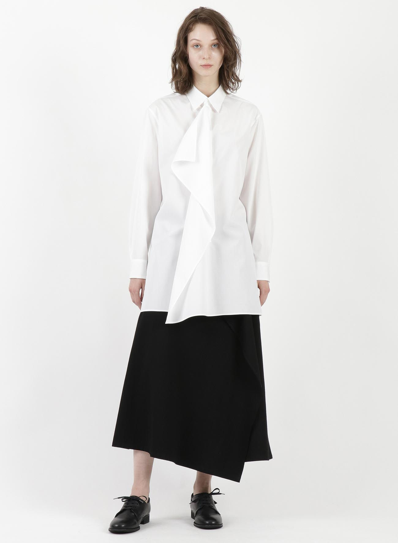 BROAD FRONT FLAP BLOUSE