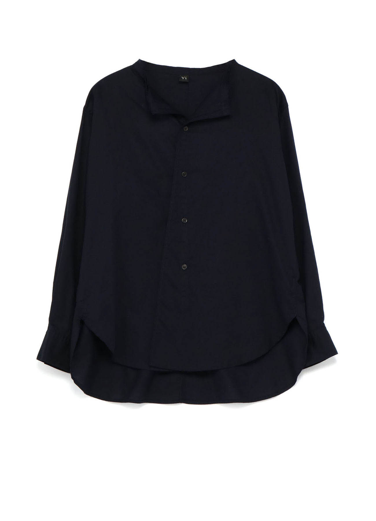 TWILL CUT OUT COLLAR BLOUSE