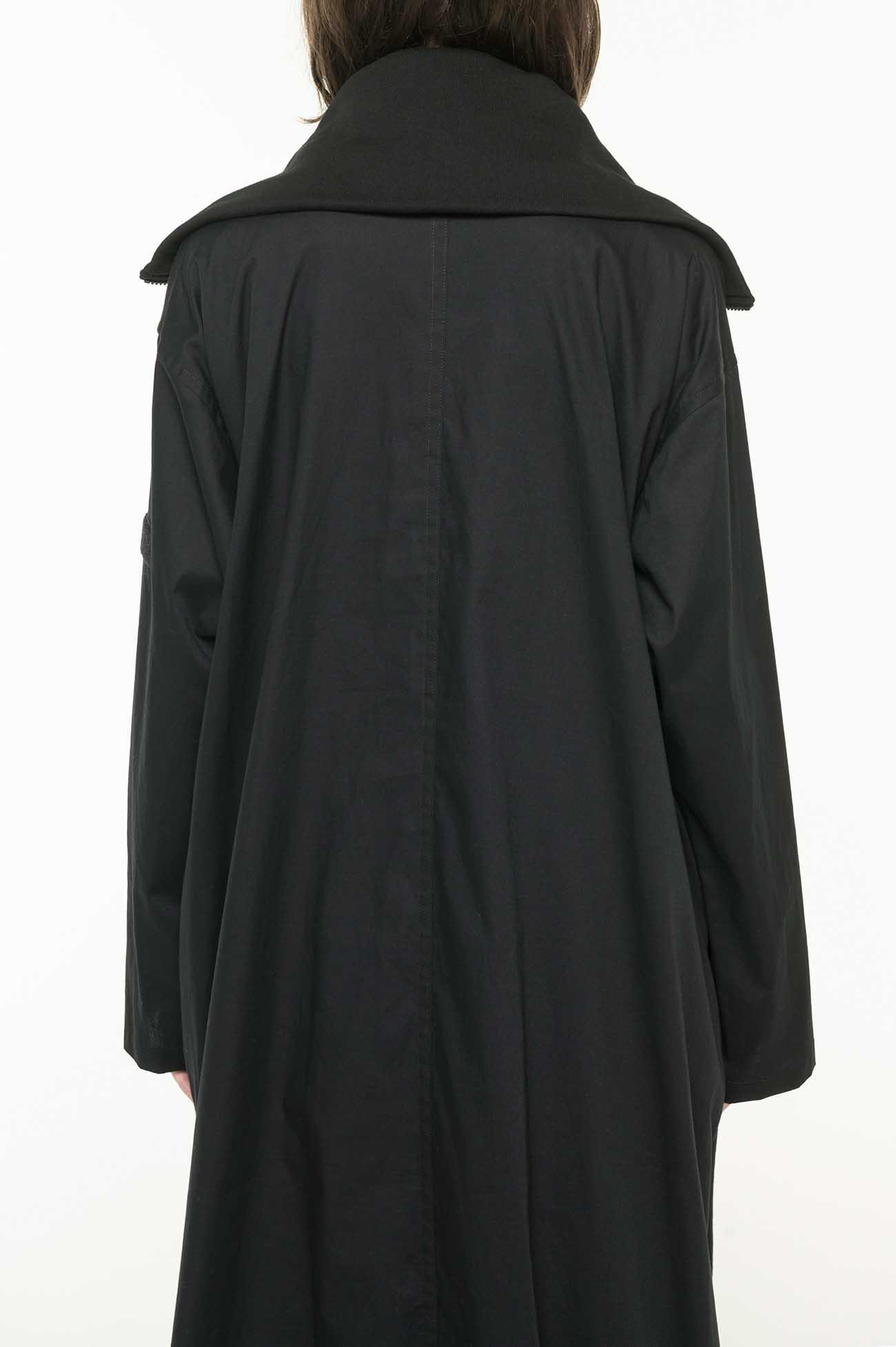 DENSED FLEECE HALF ZIP UP DRESS