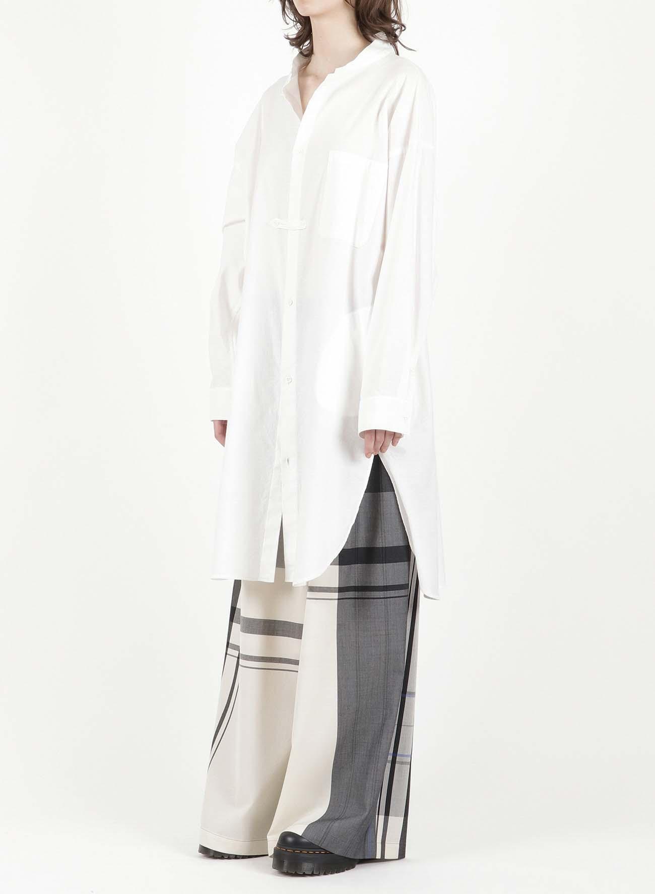 TWILL OUTER SHIRT DRESS