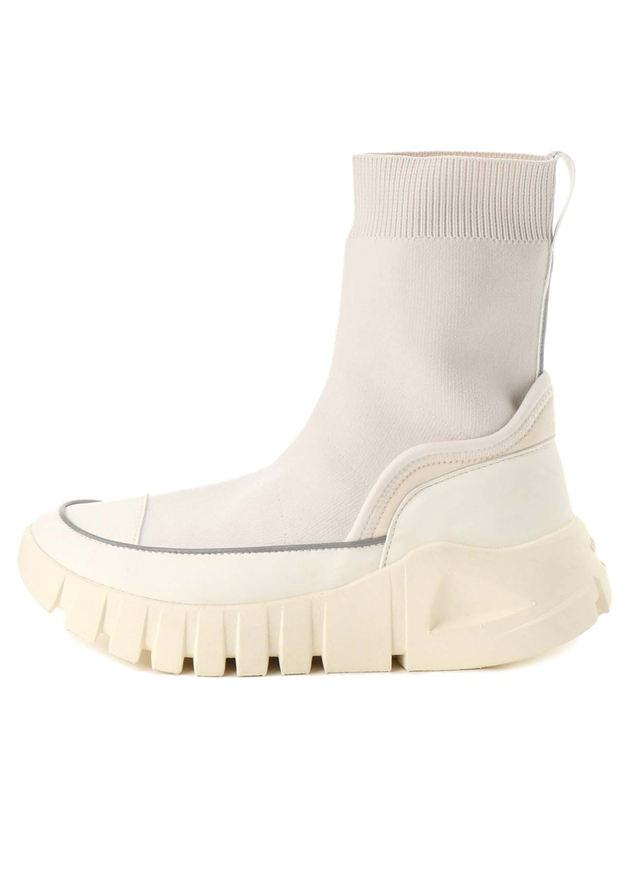 POLYESTER KNIT DAD SNEAKERS