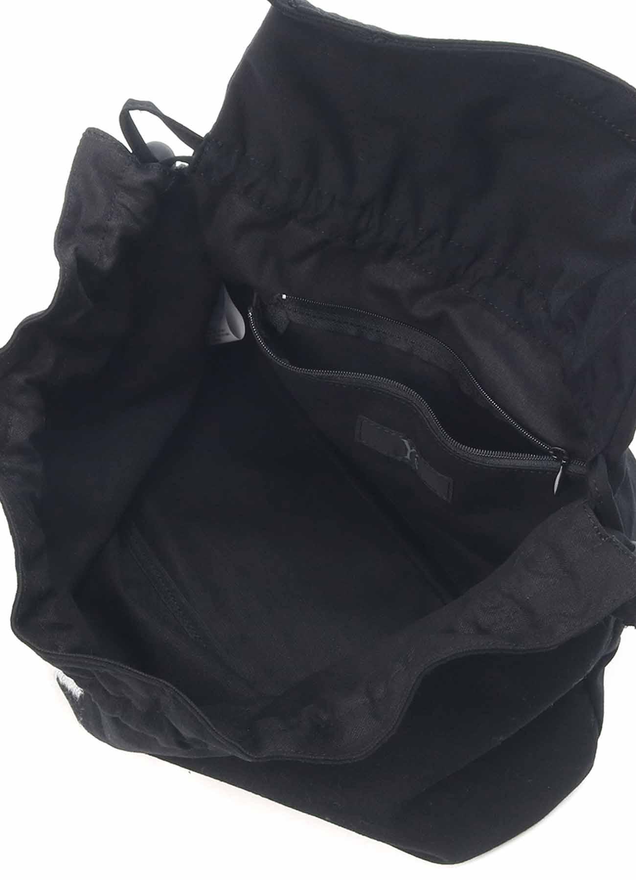 GABARDINE NEEDLE PUNCH Y's PURSE STYLE BAG