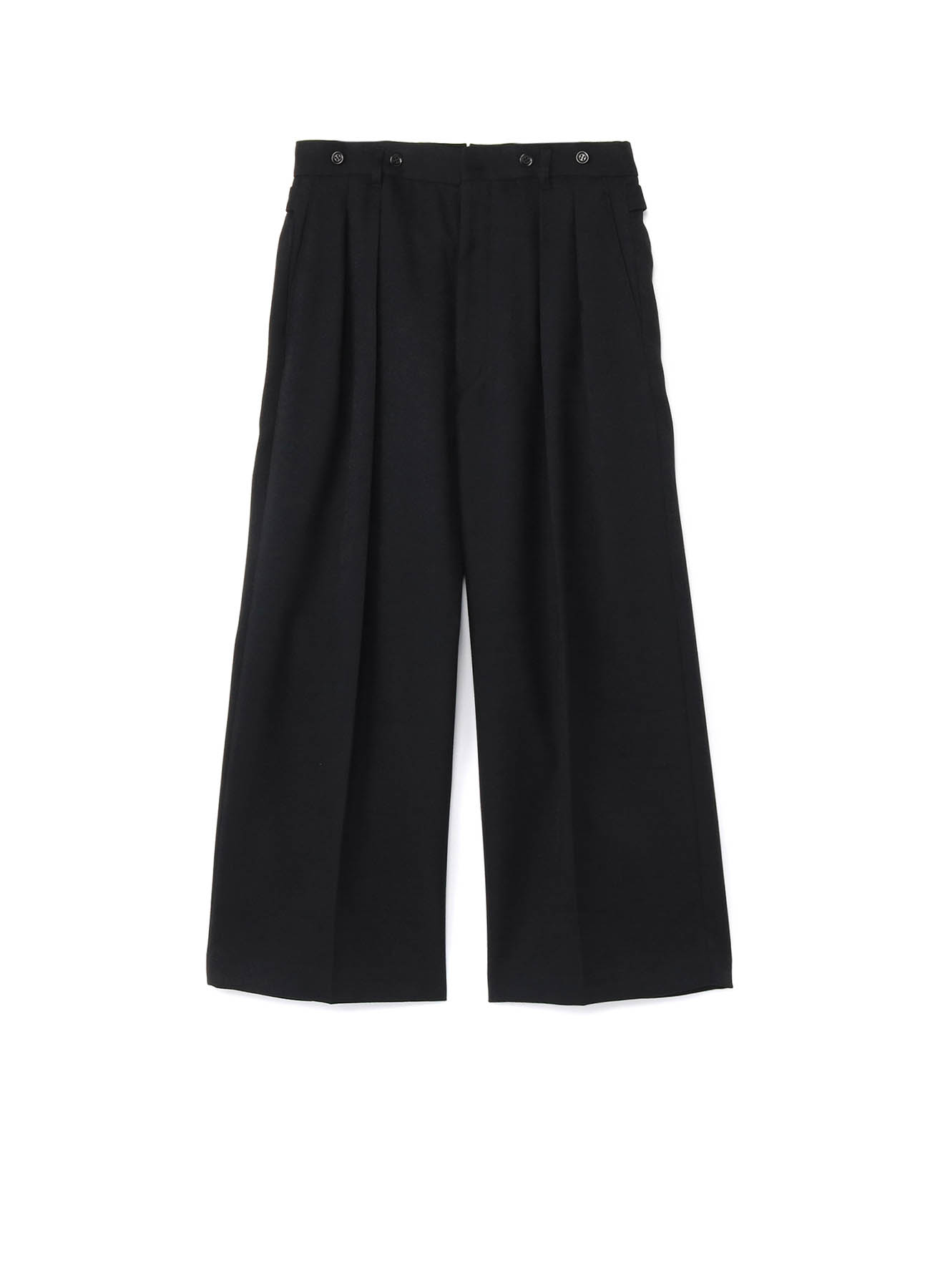 WOOLY KERSEY STRETCH STRAIGHT PANTS