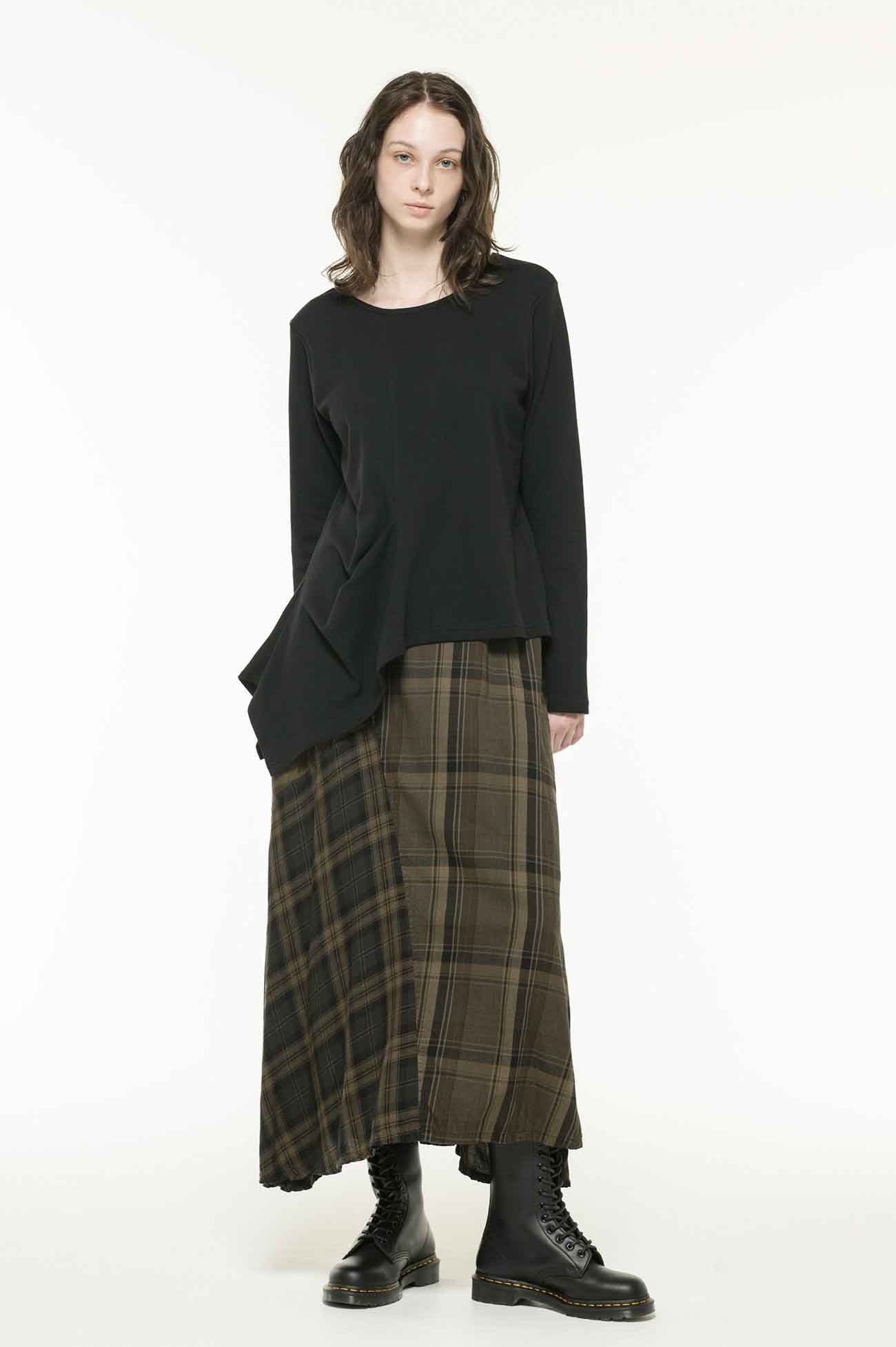 SMOOTH FRONT DRAPE T