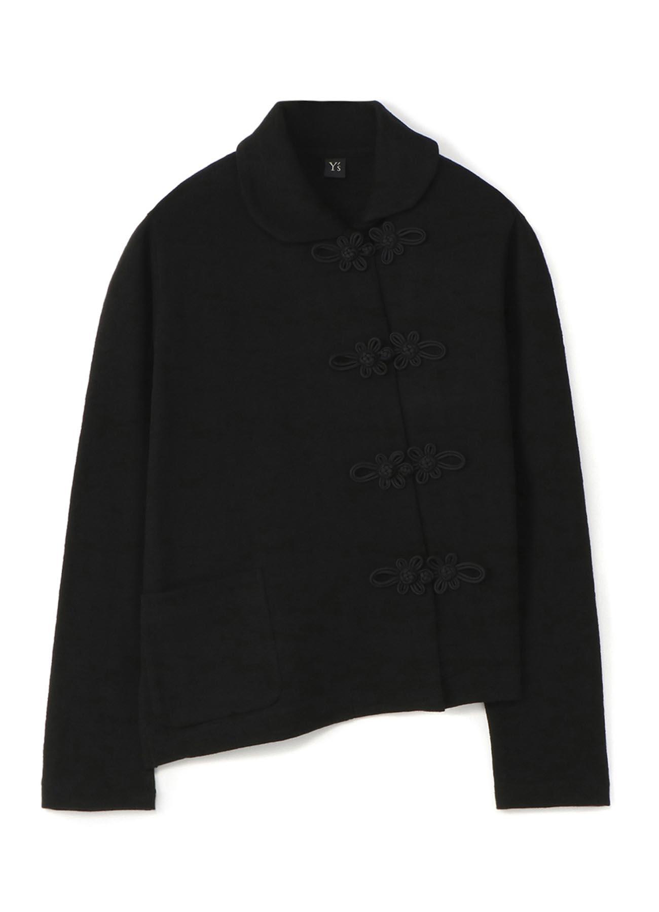 斜线门襟·中式盘扣夹克