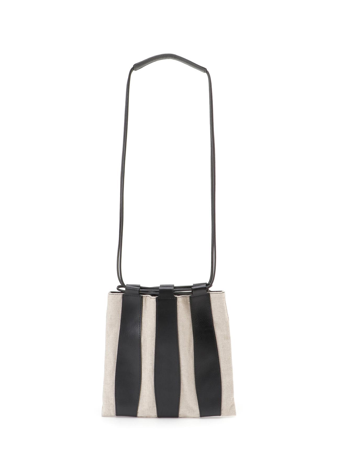 塔夫绸圆点图案背包