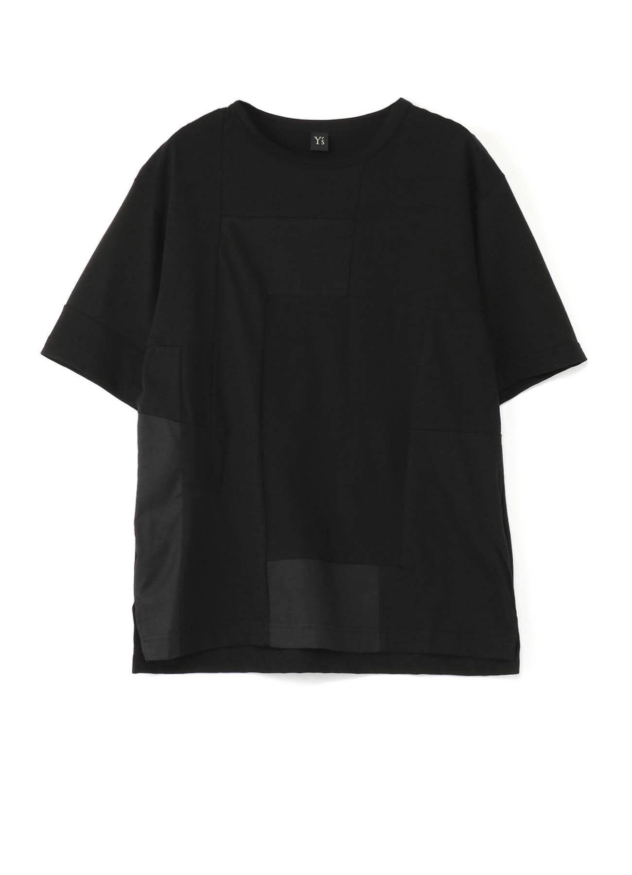 拼布风半袖T恤